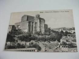 Siena Chiesa Di S. Domenico E Fonte Branda - Siena