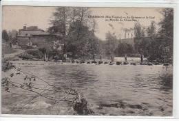 CHAMBON : La Briance Et Le Gué Au Moulin De Chambon - MOULIN - Très Bon état - Other Municipalities