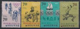 Corée Du Sud, N° 504 à 507 ** Les J O - Corée Du Sud