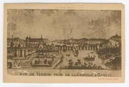 27 - Vernon       Vue De Vernon Prise De La Gravelle à Gamilli - Vernon