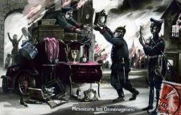 MILITAIRE MILITARIA ILLUSTRATEUR FANTAISIE PATRIOTIQUE ALLEMAGNE ALLEMAND MESSIEURS LES DEMENAGEURS - Patriottisch