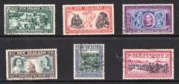 New Zealand 1940 Centenary Of British Sovereignty 6 Values To 3d Used - 1907-1947 Dominion
