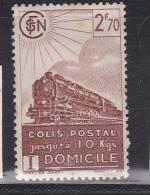 FRANCE COLIS POSTAUX N°183 2.70 BRUN LIVRAISON A DOMICILE POINT DE ROUILLE NEUF AVEC CHARNIERE - Pacchi Postali
