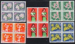 PRO JUVENTUTE 1962 Bloc De 4 ** / MNH Série Complète SBK 16,- à 20 % - Neufs