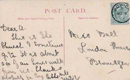P/HISTORY -1904 SINGLE CIRCLE CANCELLATION - POWICK - Storia Postale