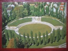 Windisch (AG) - Flugaufnahme Römisches Amphitheater Vindonissa - AG Argovie