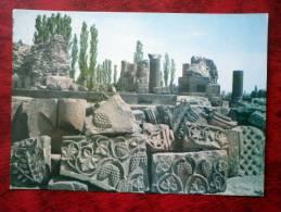 Ruins Of Zvartnots Temple - 1981 - Armenia - USSR - Unused - Armenia