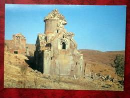 Monastery Tsahatskar, 10th-11th Centuries  - 1985 - Armenia - USSR - Unused - Armenia