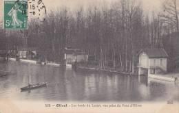 45. OLIVET. Les Bords De La LOIRE, Vue Prise Du Pont D'OLIVET. . Animation.; Précurseur. - Otros Municipios