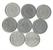Lot 5 Francs LAVRILLIER Alu - Alla Rinfusa - Monete