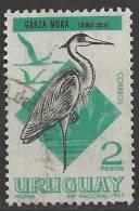1968 2p Heron, Used - Uruguay