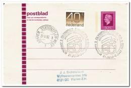 Postblad 1980 Olympics Disabled ( Gestempeld Materiaal Kan Enigszins Afwijken ) - Postal Stationery