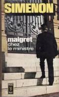 Maigret  Chez Le Ministre Georges Siménon - Simenon