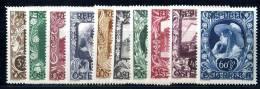 (2115)  Austria 1947  Mi.812-21  Mnh**  Sc.B208-17 - 1945-.... 2a Repubblica