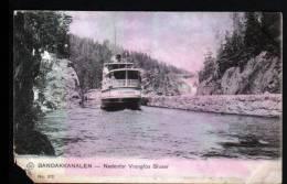 BANDAKKANALEN - NEDENFOR VRANGLOS SLUSER - Norvège