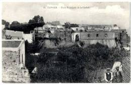MAROC  TANGER  PORTE PRINCIPALE DE LA CASBAH - Tanger