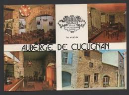 DF / 11 AUDE / CUCUGNAN / AUBERGE DE CUCUGNAN / CARTE MULTIVUES / DATEE 1982 - Francia