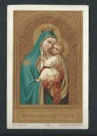 La Ste Vierge Et L´enfant Jésus, Avec Scapulaire. Litho- Van O.L.V. Karmelusberg - Images Religieuses