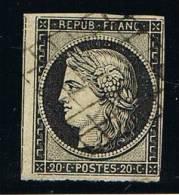 France ...  Yvert  .... 2   ...... O .....  Oblitere - 1849-1850 Ceres