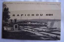 CPA - NANTERRE - Les Bassins De La Compagnie Des Eaux Au Mont-Valérien -Filtres Dégrossisseurs Puech - Nanterre