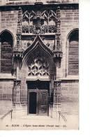 Dijon : L'église Saint-Michel, Portail Sud (Lévy Et Neurdein Réunis, Paris, LL N°26) - Dijon