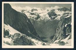 Deutschland Schwarz Weiße Ansichtkarte Hochgeschirr (1951 M.) Am Kahlersberg Mit Blick Gegen Das Steinerne Meer Ca. 1910 - Deutschland