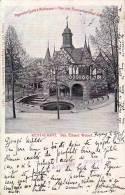 "MÜHLHAUSEN : RESTAURANT BES. EDUARD WETZEL - CARTE POSTALE Style ""GRUSS AUS..."" ~ 1900 - PRÉCURSEUR / FORERUNNER (n-847) - Muehlhausen"