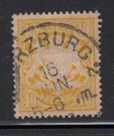 Bavaria Used Scott #68 40pf Coat Of Arms, Yellow - Bavière