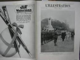 L'ILLUSTRATION 4439 BORDEAUX/ BRUGES/ TSF/ TOULON/ SIDE CAR/ SAN FRANCIS  31 Mars 1928 - Journaux - Quotidiens