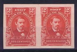 Honduras 1907 Mi 102A Carmin Imperforated, 1 Stamp = MNH, 1x MH/* - Honduras
