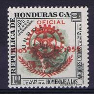 Honduras 1955 Airmail  Mi 512 MNH/** - Honduras