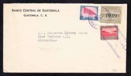 E-AMER-53 LETTER FROM GUATEMALA TO CHECOSLOVAQUIA 31.05.1939 - Guatemala