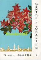 CPSM GENTSE FLORALIEN 1965 M. SEVERIN - Expositions
