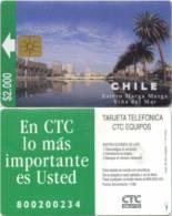 Telefonkarte Chile  - Vina Del Mar - 11/97 - Chile