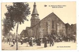 CPA 03 NERIS Sortie De La Messe - Neris Les Bains