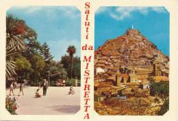 MISTRETTA (ME) SALUTI VEDUTE 1970 - Messina