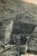 Le Poste Des Douanes Et Entrées Du Tunnel International. Rare. - Cerbere