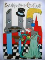 Patrick HAMM Illustrateur Banquet étudiants 1988 Pharmacie Stasbourg (n°369) - Hamm
