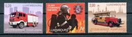 LUXEMBOURG  Mi.Nr. 1818-1820 Feuerwehr  -MNH - Firemen
