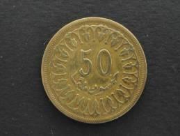 1380 - 1960 - 50 Millim - Tunisie - Tunisia