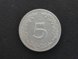 1960 - 5 Millim - Tunisie - Tunisia