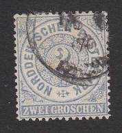 Northern German Confederation, Scott #17, Used, Number, Issued 1869 - North German Conf.