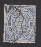 Northern German Confederation, Scott #10, Used, Number, Issued 1868 - North German Conf.