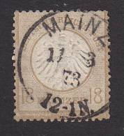 Germany, Scott #11, Used, Imperial Eagle, Issued 1872 - Oblitérés
