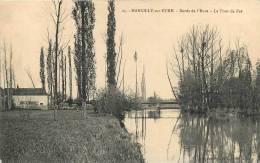 27 MARCILLY SUR EURE LE PONT DE FER BORDS DE L'EURE - Marcilly-sur-Eure