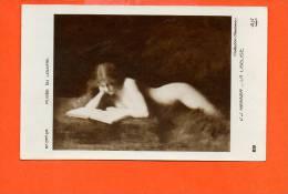 Musée Du LOUVRE -  J.J. HENNER - La Liseuse AN Paris N°231 (collection Chauchard) - Musées