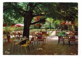 PUGIEU (Ain) - Hôtel-Restaurant PLOTTIN - Sa Terrasse - Tél. 50  - Format CPM - Dentelée - - Frankreich