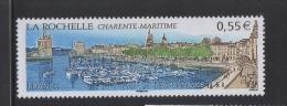 FRANCE-2008-un Timbre (1) N°YT 4172** LA ROCHELLE Le Port  Saint Nicolas La Chaine 0.55€ CDF - Unused Stamps