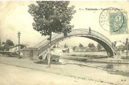 Toulouse. Passerelle Négreneys. - Toulouse