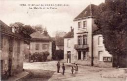 CEYZERIEU - La Mairie Et La Poste    (54819) - Autres Communes